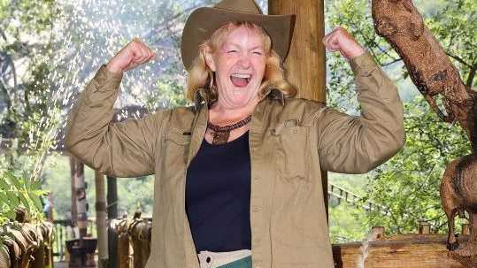 Val Lehman pictured after her elimination from I'm A Celebrity... Get Me Out of Here!