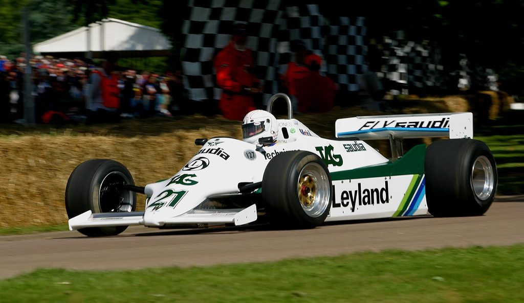 Williams FW07 - ex-Alan Jones F1 car.
