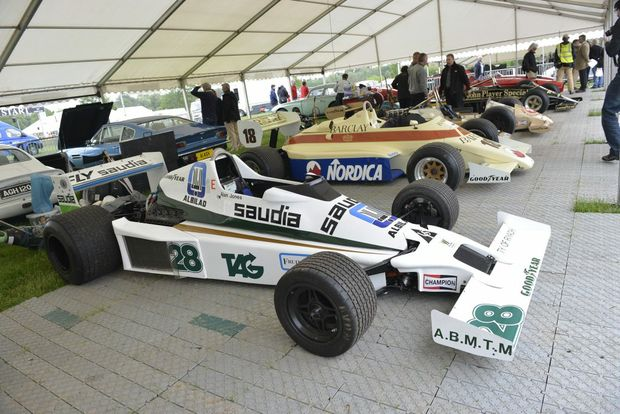 Williams FW06 - ex-Alan Jones F1 car.