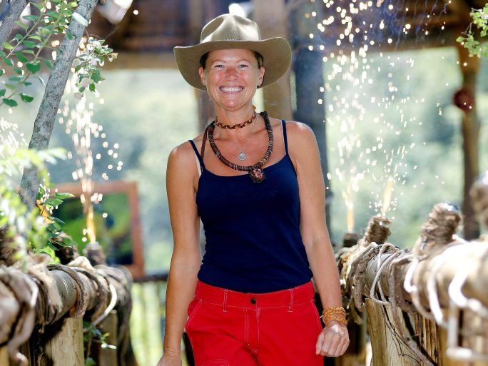 Jo Beth Taylor pictured after her elimination from I'm A Celebrity... Get Me Out of Here!