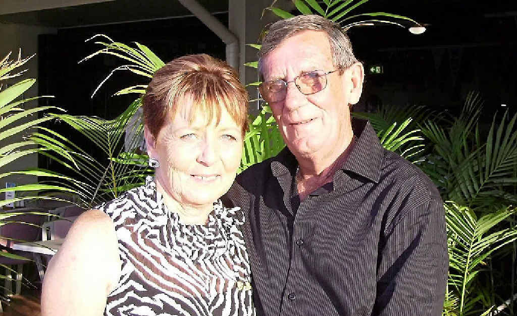 SUFFERING: Former Grasstree Mine and NSW mines worker Keith Stoddart, with his wife Danielle, was officially diagnosed with black lung disease in February.