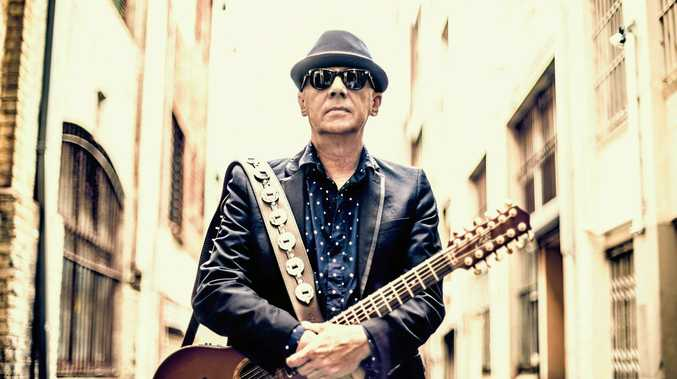 EXCITED: Russell Morris is keen to catch other shows while playing at Blues Fest.