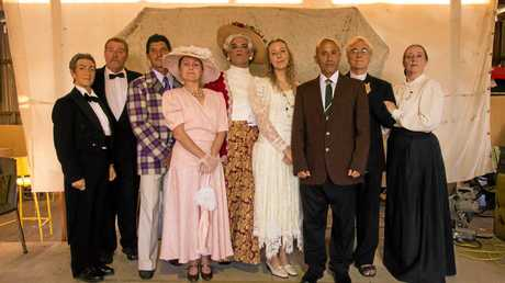Murwillumbah Theatre Company's cast of Oscar Wilde's The Importance of Being Earnest.