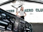 Casino teen starts down runway to aviation dream