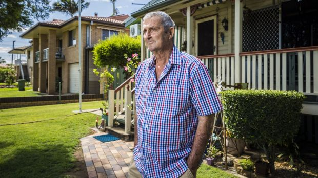 Ipswich black lung sufferer Percy Verrall is dealing with the health effects of a lifetime working in underground coal mines.