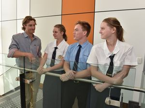 WATCH: Queensland's Bear Grylls inspires students