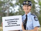 GET INVOLVED: Ipswich Police Superintendent Charysse Pond is taking part in an International Women's Week initiative.