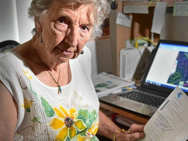 Valerie Zwart was lucky to avoid being scammed by a fake Telstra email.