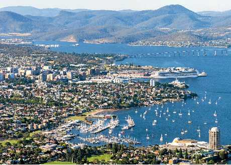 Hobart is Tasmania's capital city and the second oldest