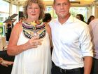 Elizabeth Osborne with son Mick Fanning receiving the Tweed Coast Woman of the Year Award at Kingscliff.