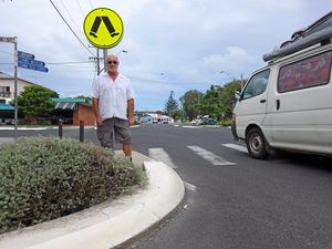 Call for safety measures at Evans pedestrian crossing
