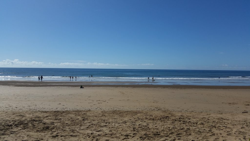 WHERE'S WINTER?: Nielson Park Beach, Bargara on the last day of Autumn for 2015. Photo Carolyn Archer / NewsMail