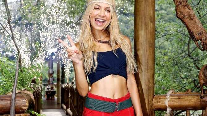 Havana Brown pictured after her elimination from I'm A Celebrity... Get Me Out of Here!