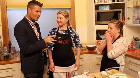 My Kitchen Rules judge Pete Evans offers advice to Rosie and Paige during their instant restaurant redemption in Adelaide.