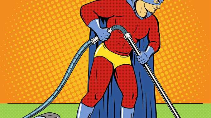 Why are blokes still considered heroes if they pick up the vacuum cleaner and know how to use it?