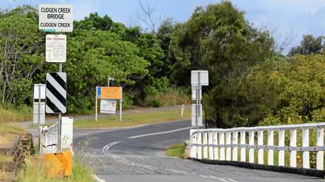 CROSSING SHUT: The old timber bridge at Cudgen Creek will be shut from June while a new, wider bridge is built.
