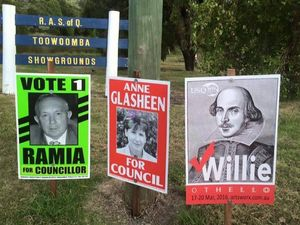 Who is voting William Shakespeare for council?