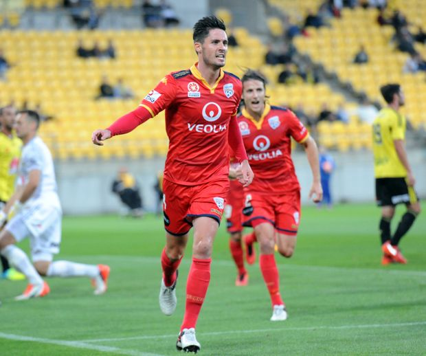 Adelaide United is unbeaten in 14 weeks and has stormed to the top of the A-League table. Photo: AAP Image.