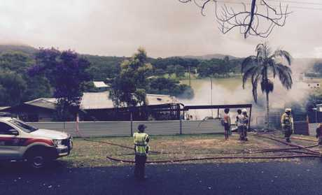Beerwah house fire.