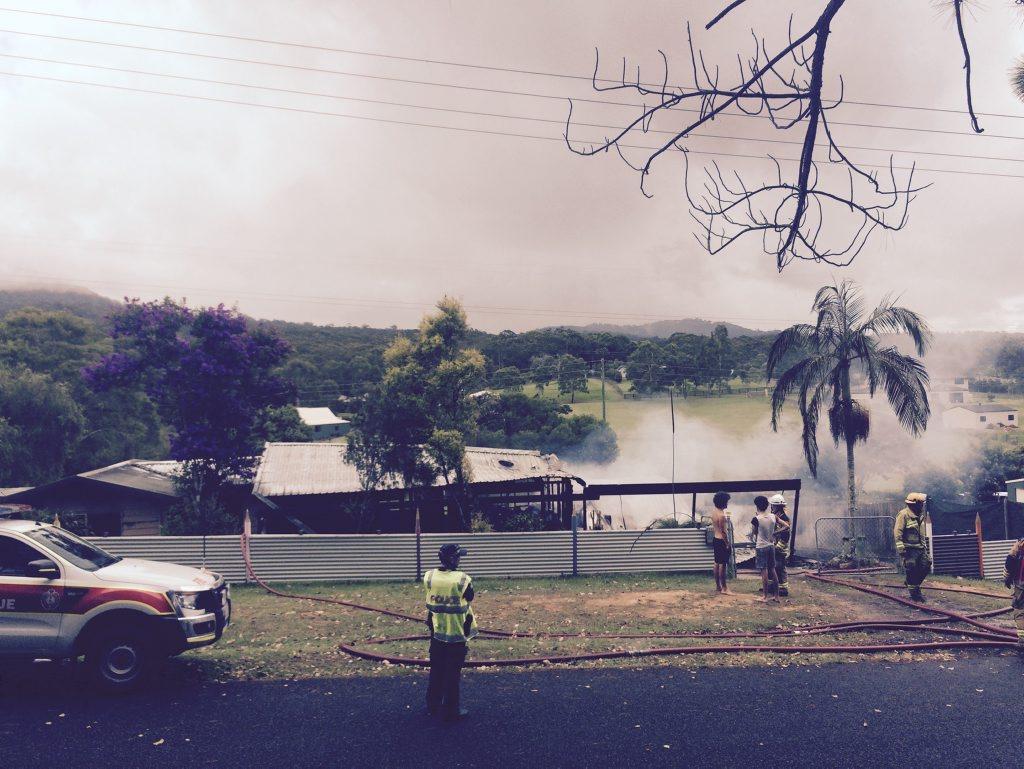 Beerwah house fire.