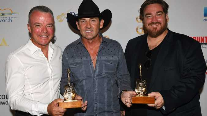 Lee Kernaghan took out three gongs at the CMC Music Awards.
