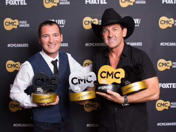 Keith Urban is CMC's International Artist of the Year.