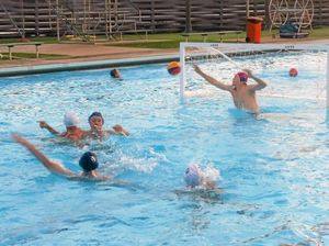 Triple threat in the pool with strong water polo players