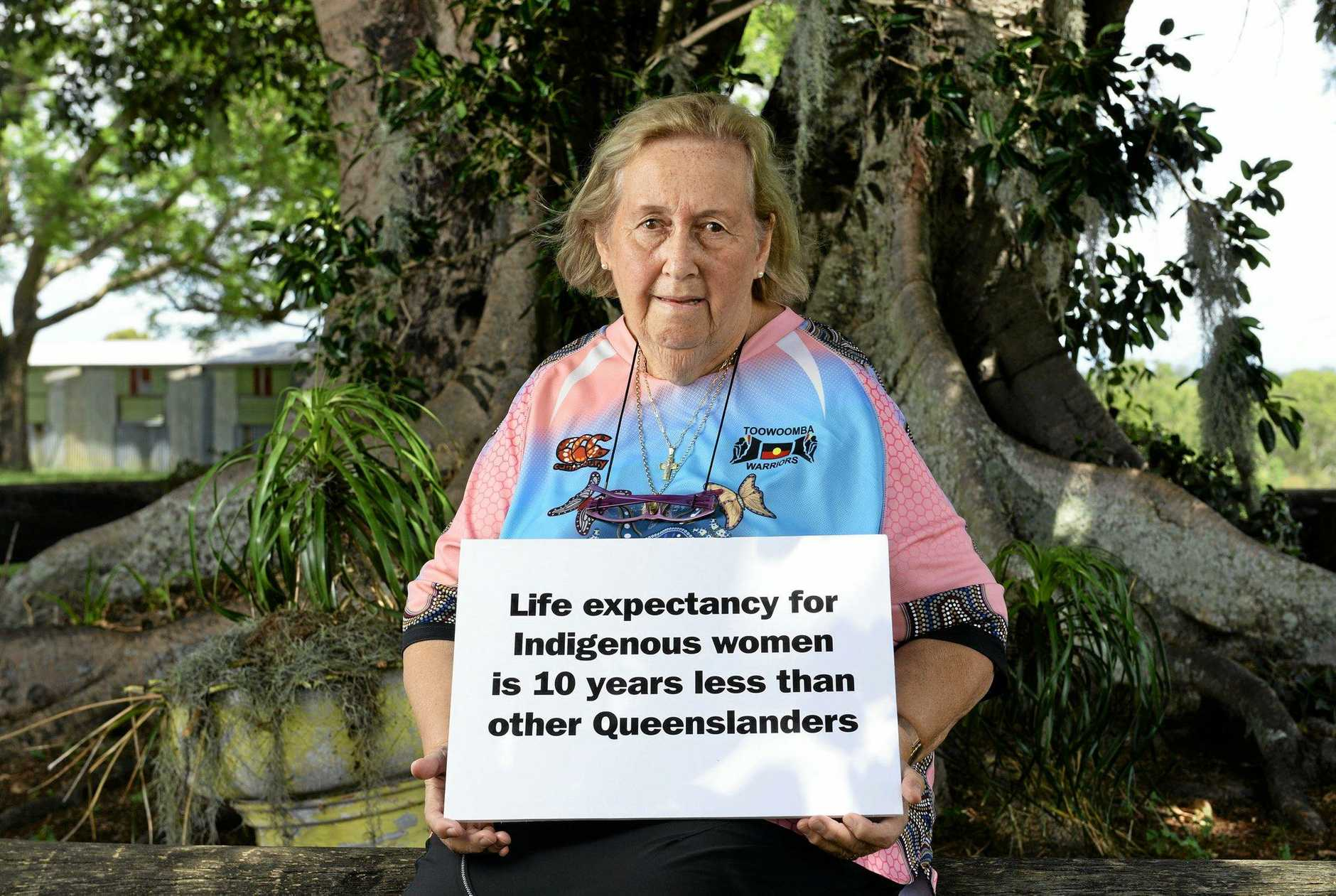 Ipswich Citizen of the Year Faye Carr is also taking part in the QT Queensland Women's Week profile series.