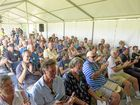 SUPPORTIVE: The crowd shows its appreciation to the speakers at the Stingless Bee Expo held at the Clarence River Jockey Club.