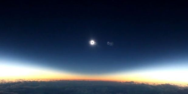 The total eclipse got