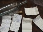 Qld police find messages in a bottle, track down sailors