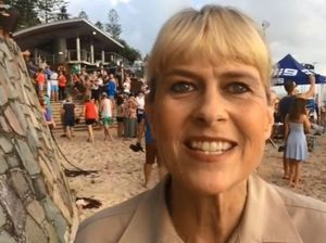 Terri Irwin speaks about the Today Show's visit