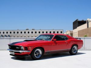 Your choice: classic Mustang muscle or two bits of tin?