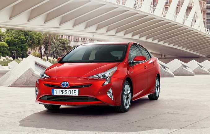 HYBRID LOOKS: Will the polarising style of the Prius model mean it will lose sales to Toyota's own Corolla Hybrid model when it arrives later this year?
