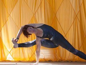 Yoga gives Nicolette peace