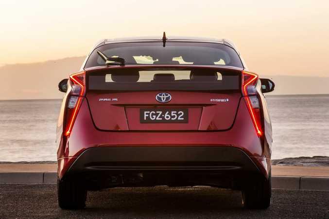 The 2016 Toyota Prius i-Tech.