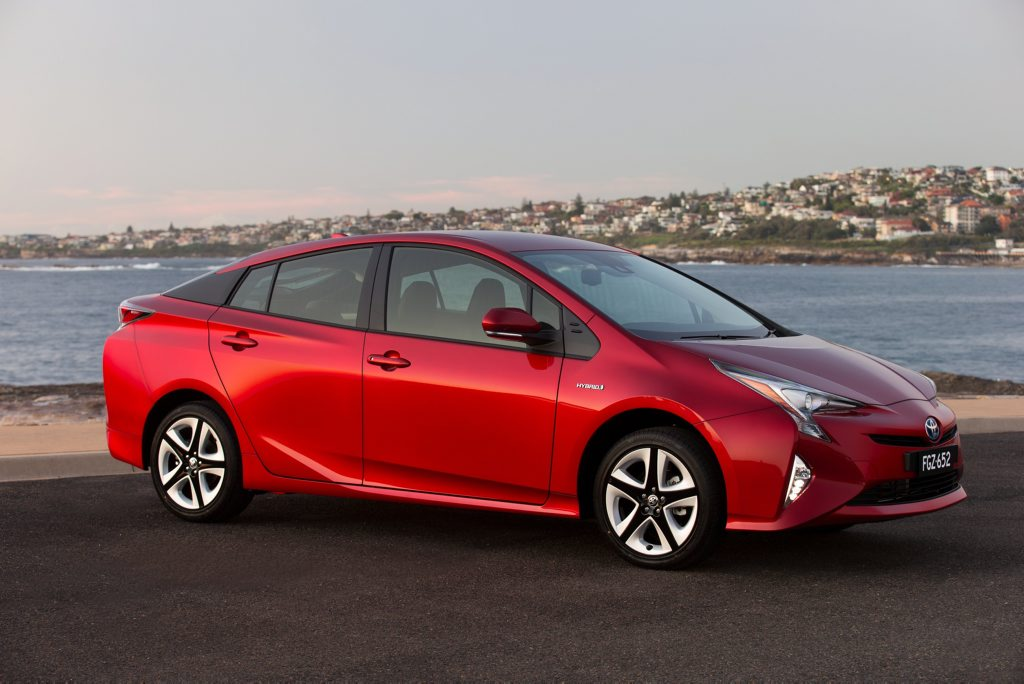 The 2016 Toyota Prius has been launched.