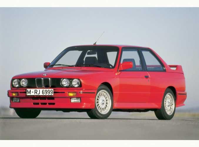 1986 BMW E30 M3. Photo: Contributed