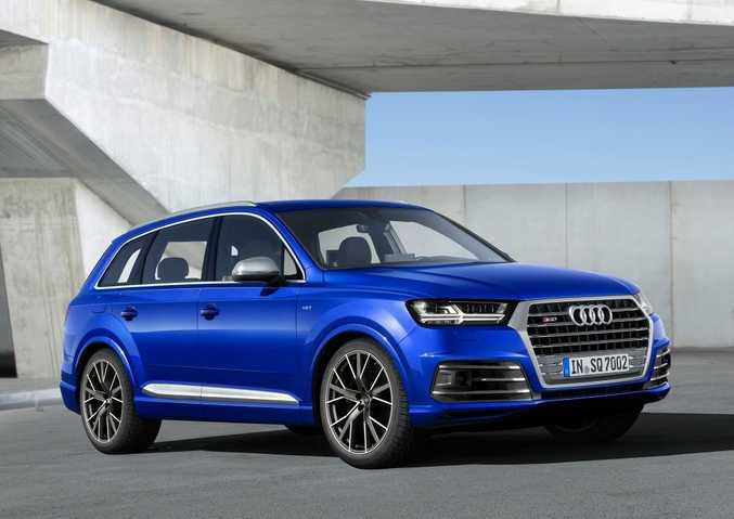 2016 Audi SQ7. Photo: Contributed
