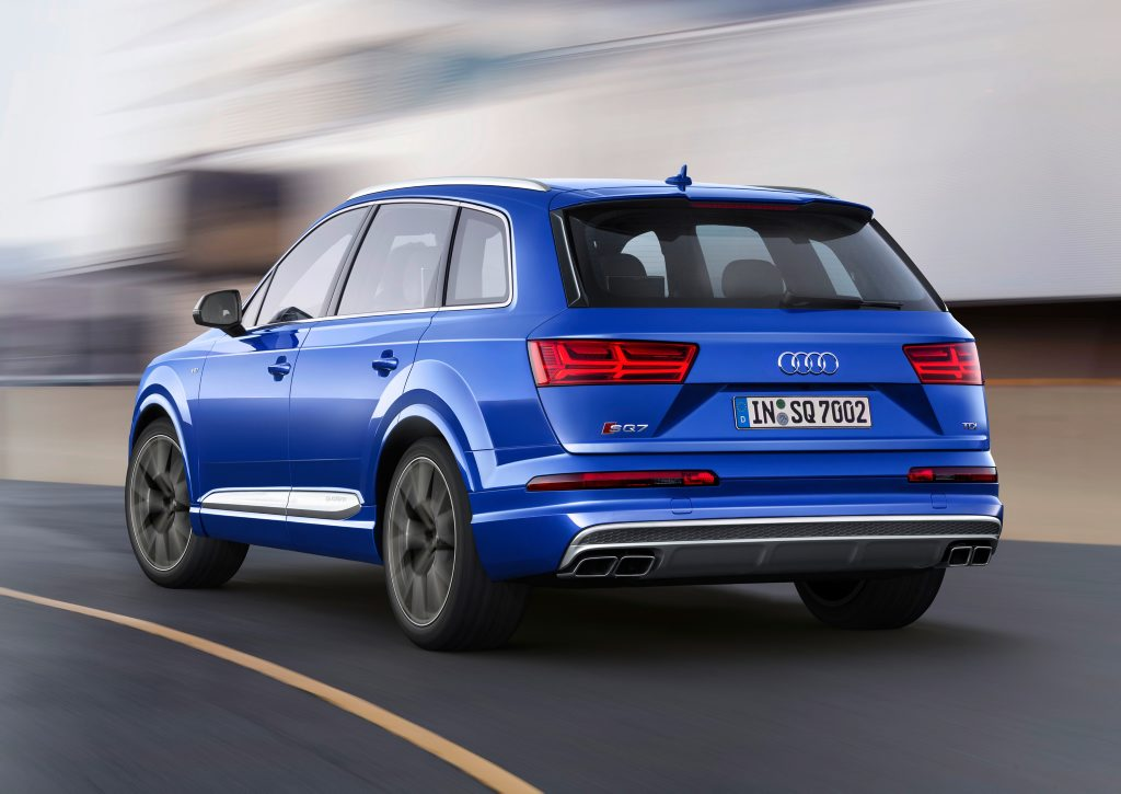 RAPID: Fancy electric compressor to go with a twin-turbo V8 diesel gives Audi's new SQ7 320kW, 900Nm and the promise of no turbo lag.