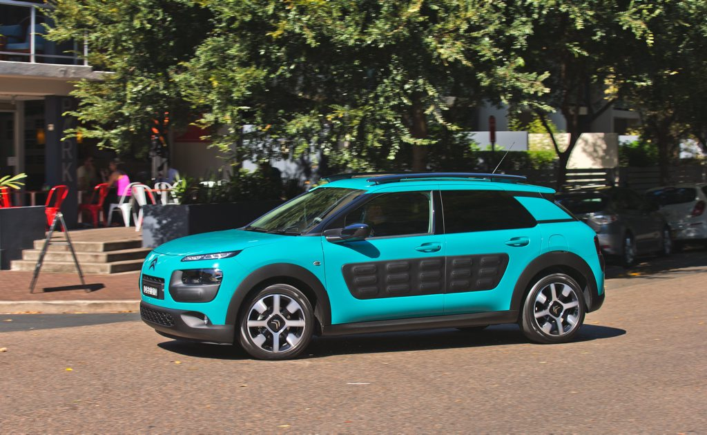FEELING BUMPY: Finally here, Citroen returns to what it does best with an innovative, stylish and very 'out there' offering with its Cactus small SUV.