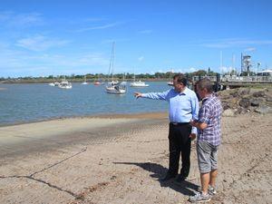 Burnett Heads boaties welcome boat ramp upgrade