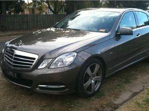 Stolen Mercedes seen driving erratically around Toowoomba