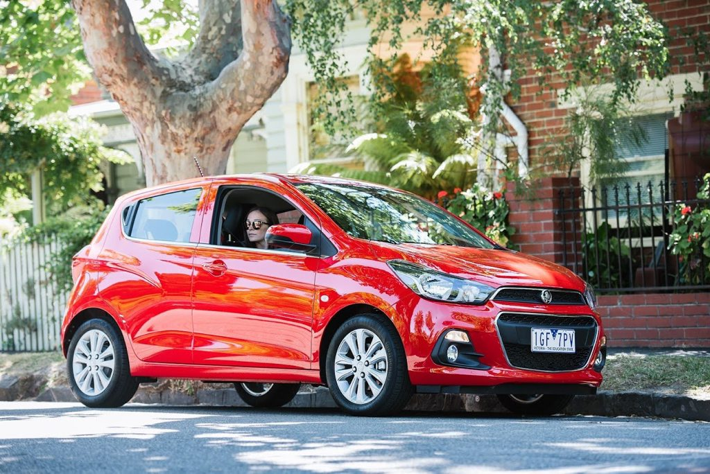 YOUNG APPEAL: Holden's delivers a micro-sized gem to market with all-important Apple CarPlay and Android Auto, but the all-new Spark is also a safe and talented drive.