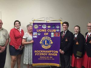 Student voices heard at Lions Youth of the Year