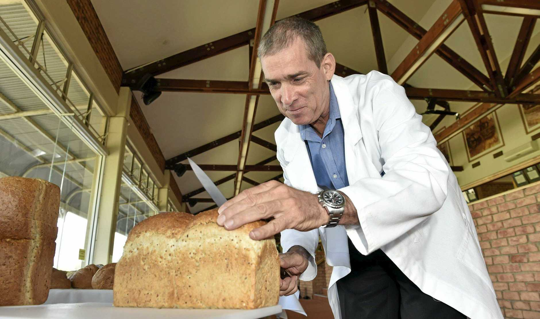 Judge Brad Dance.Toowoomba Show 2016. Toowoomba Royal Bread Show. March 11, 2016