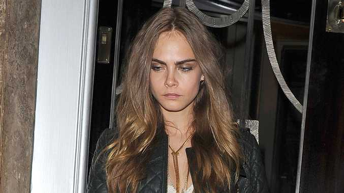 Cara Delevingne says she was constantly seeking validation from the modelling industry.