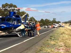 Fatal traffic crash on Warrego Hwy