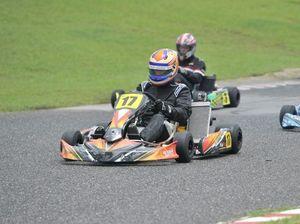 Cox the target in go-karts