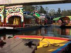 Party boats at Xochimilco, south of Mexico City. Photo: Rae Wilson